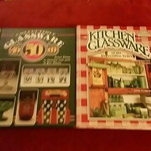 Glassware books price guides